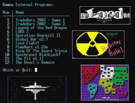 BBS game