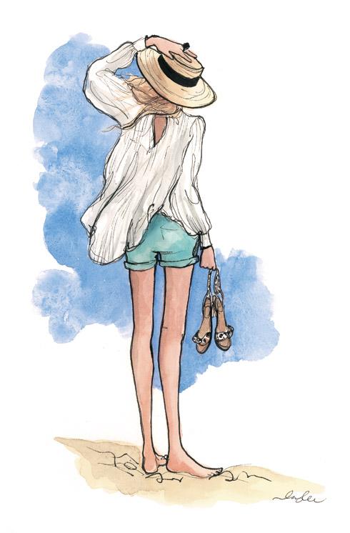 Una mujer moderna Lo que trae el verano