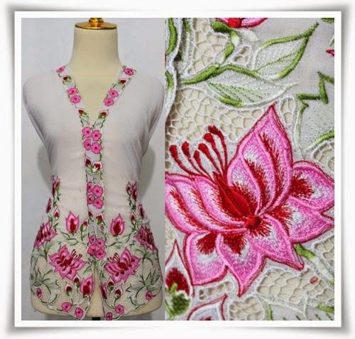 Foto Model Baju Kebaya Sulam