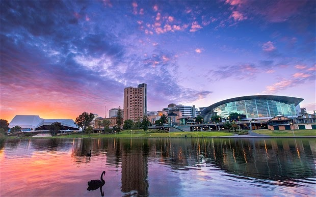 Adelaide: holiday in the cool capital
