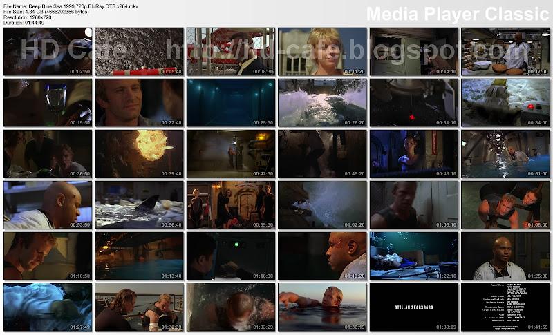 Deep Blue Sea 1997 video thumbnails