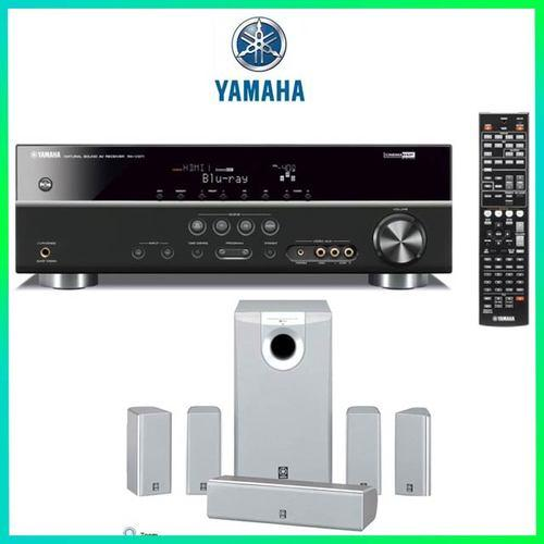 Yamaha rx v371 home theater system for Yamaha 7 2 home theatre system