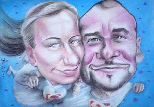 Invitaţie de nuntă caricatură - 2011 Suceava