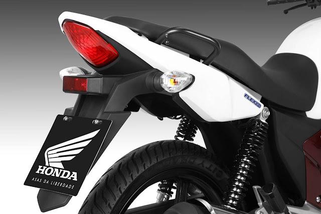 Honda CG 150 Titan 2014 - lanterna traseira