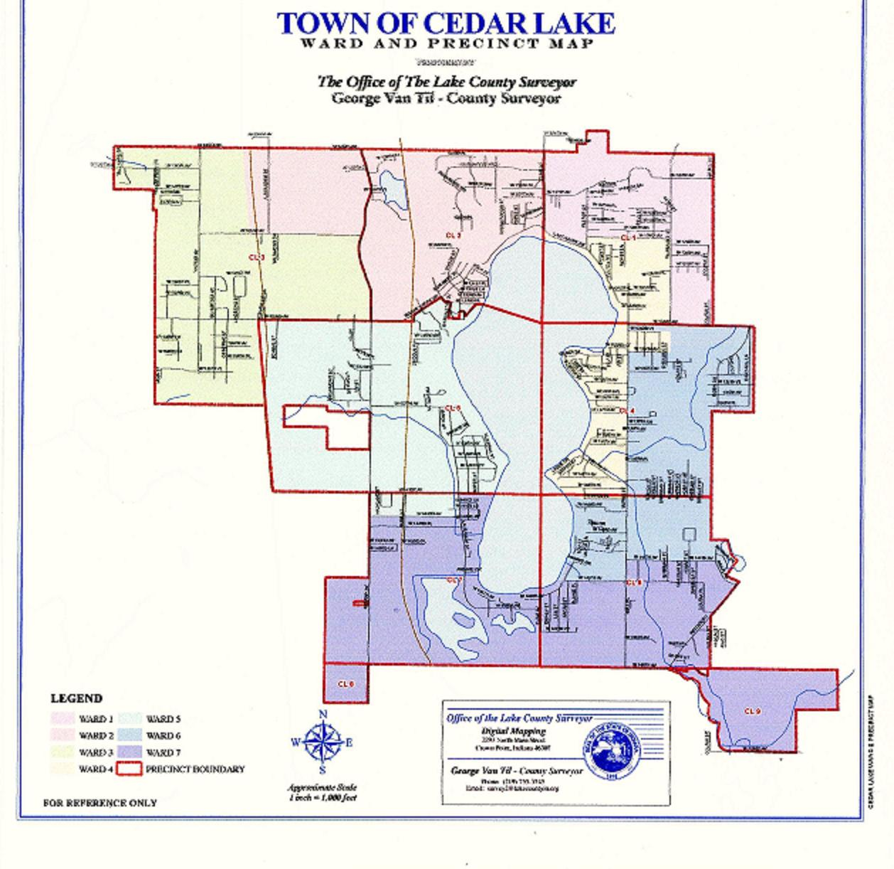 cedar lake hanover republicans of lake county primary voting cedar lake precinct map and voting locations
