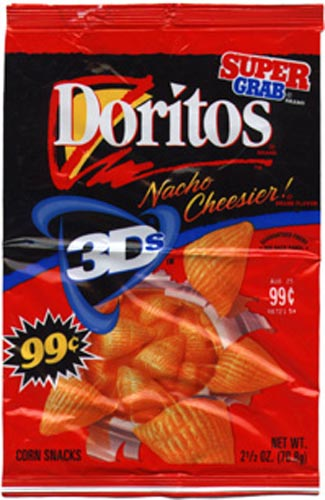 Old School Movie: Missing: 3D Doritos 3d Doritos