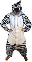 zebra kigurumi