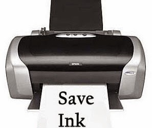 Save Ink