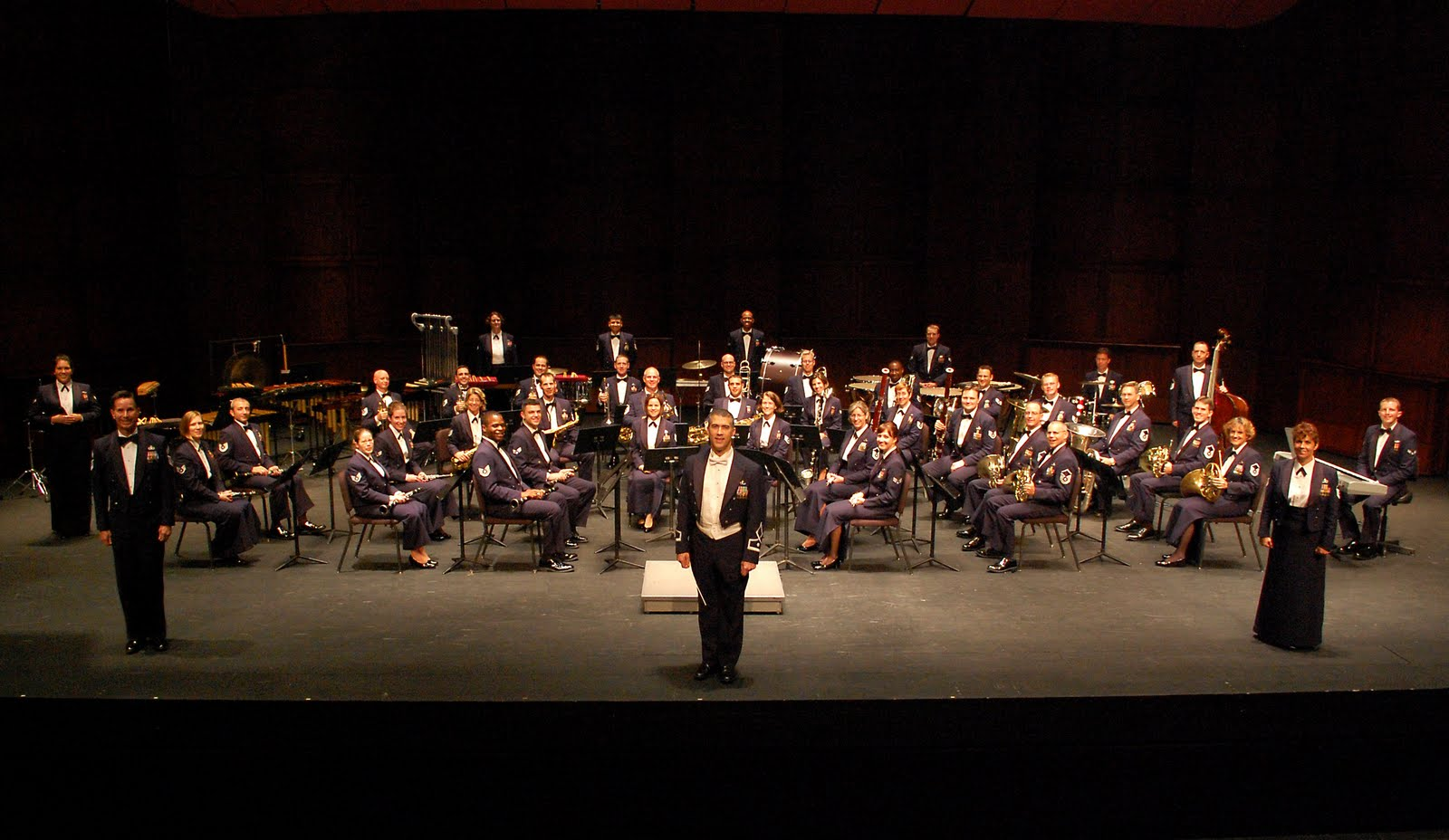 Charleston Naval Base >> We've MOVED.: USAF Heritage of America Band to Present Free Concert in North Charleston