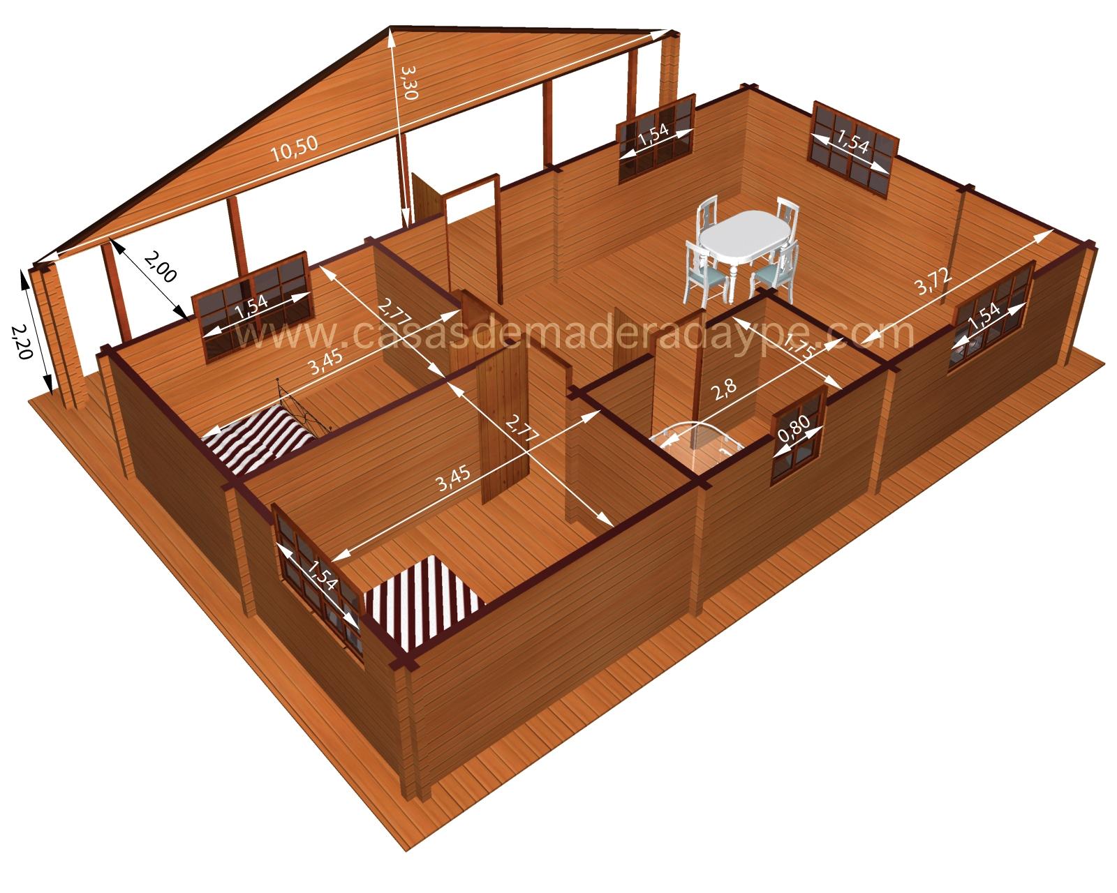 Casas de madera economicas - Casas madera economicas ...