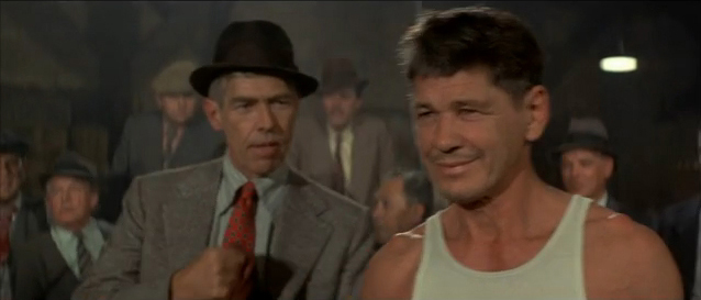 Chaney ready to fight Hard Times 1975 movieloversreviews.blogspot.com