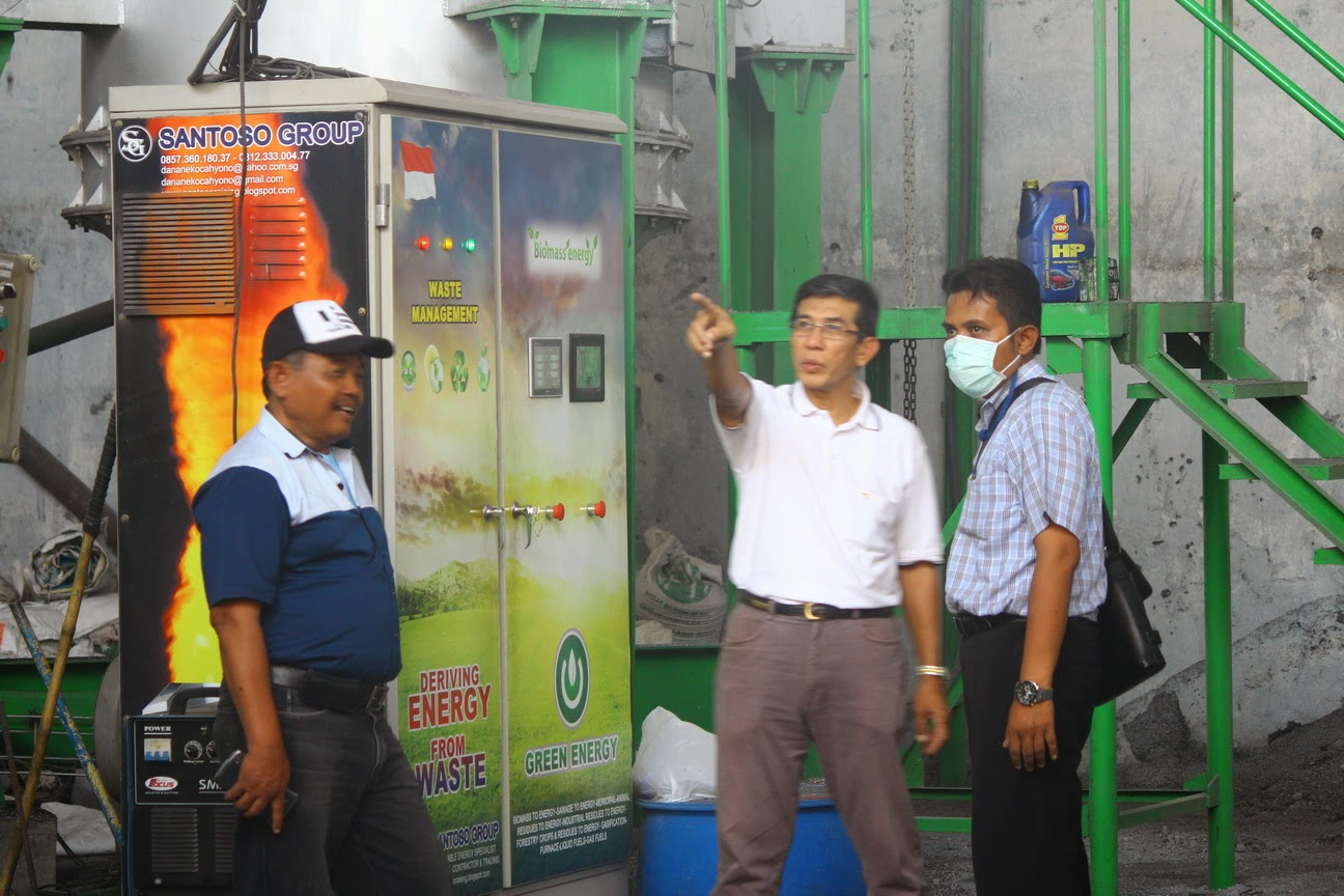 Unit Pengolahan Libah dan Sampah Padat