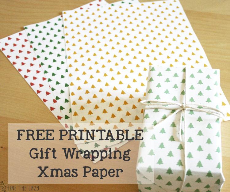 cCarta regalo natalizia free printable