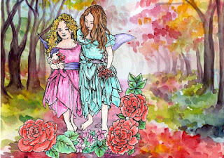 Fairy Wishes Sky and Scarlet