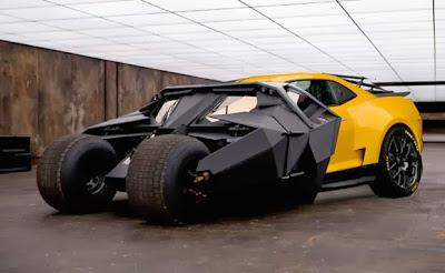 Chevrolet Camaro car is going to be Batman