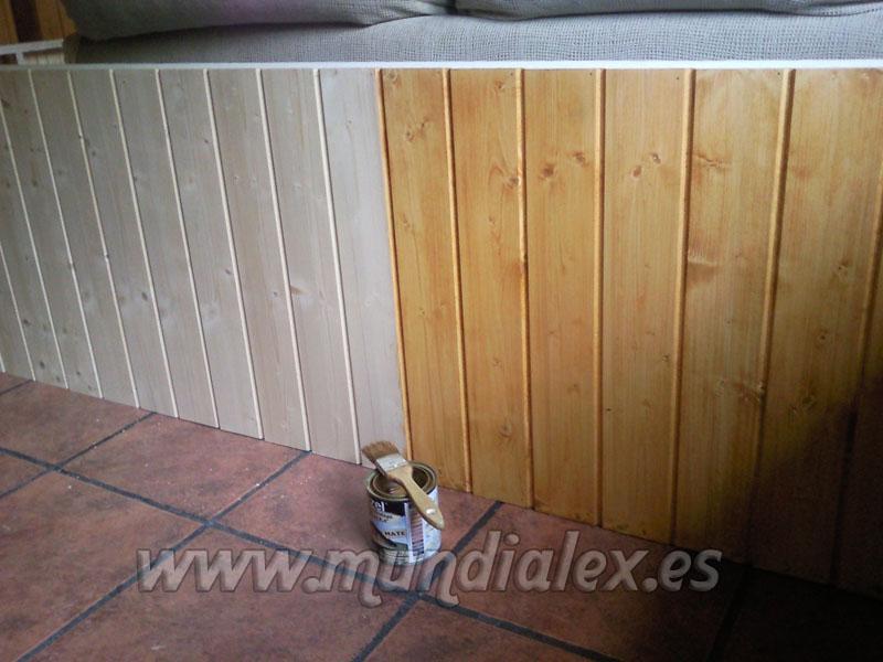 Mundialex bricolaje y decoraci n muro para proteger el - Rinconeras de madera ...