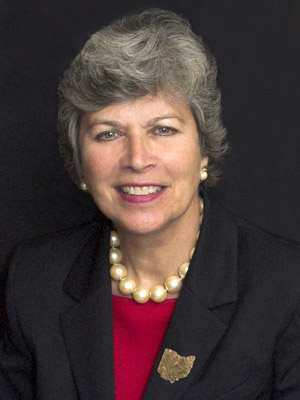 Former Ohio First Lady <b>Frances Strickland</b>, who is blazing the campaign trail ... - frances%2Bstrickland