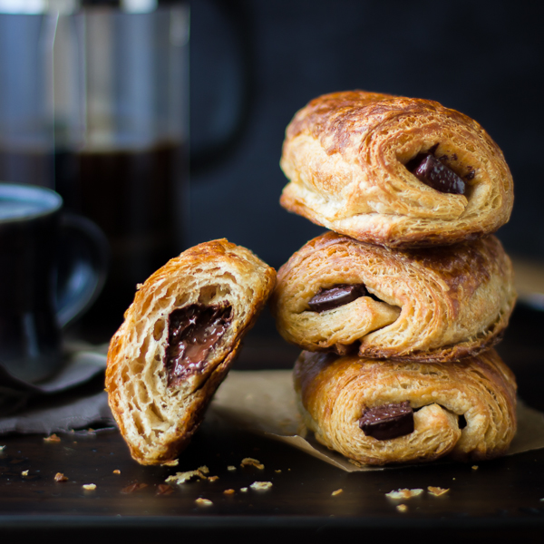 The Bojon Gourmet: Rye Flour Pains au Chocolat (Chocolate Croissants)