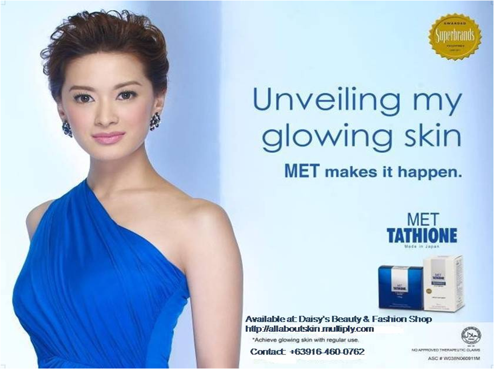 Met tathione the only trusted brand of glutathione by celebrities now