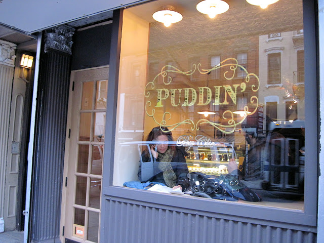 The new in New York Puddin' makes the traditional dessert elegant