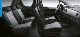 Toyota Yaris car 2013 interior - صور سيارة تويوتا يارس 2013 من الداخل
