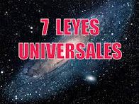 Las 7 leyes cósmicas
