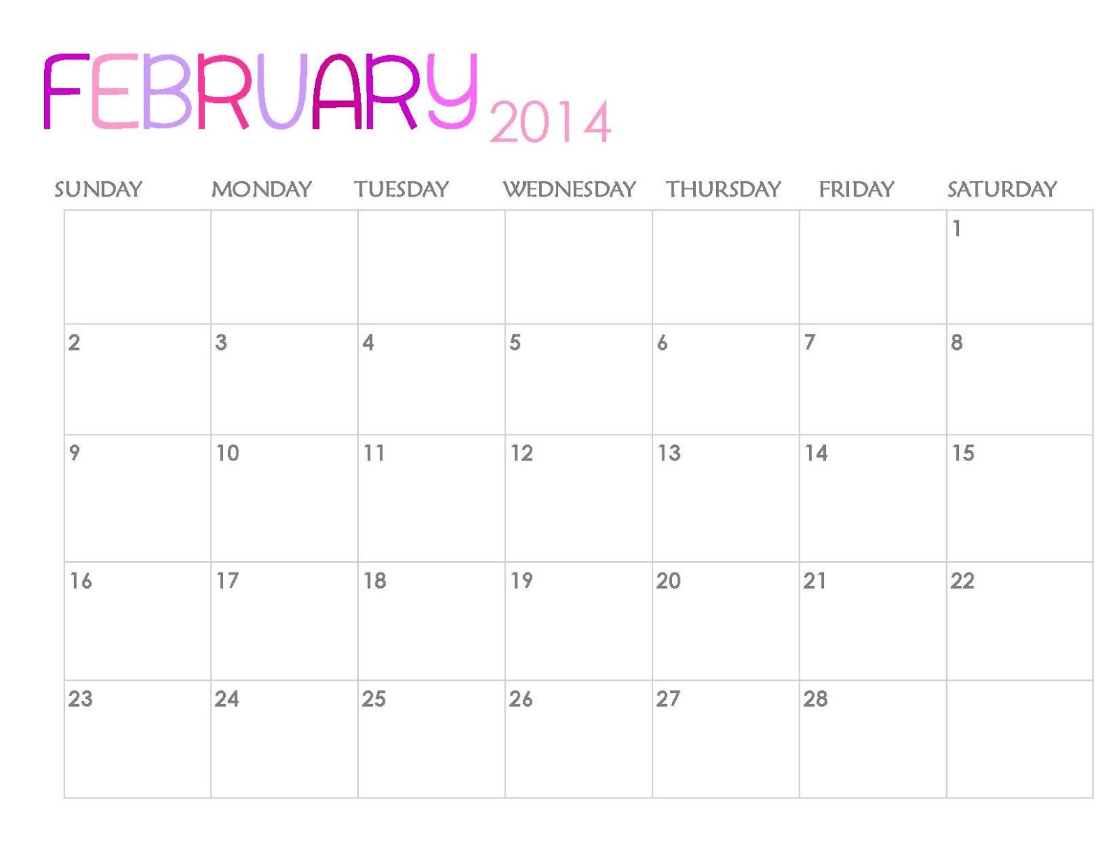 """Calendar Monthly February : Search results for """" and cute calendar"""