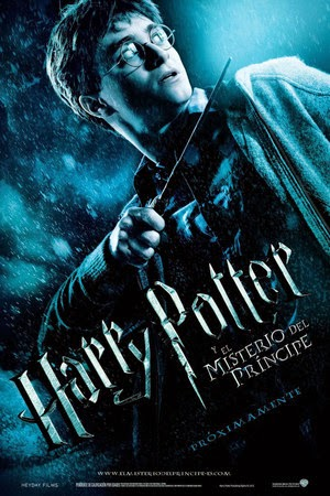 Poster Harry Potter and the Half-Blood Prince 2009