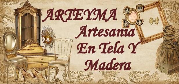 ARTESANIA EN TELA Y MADERA
