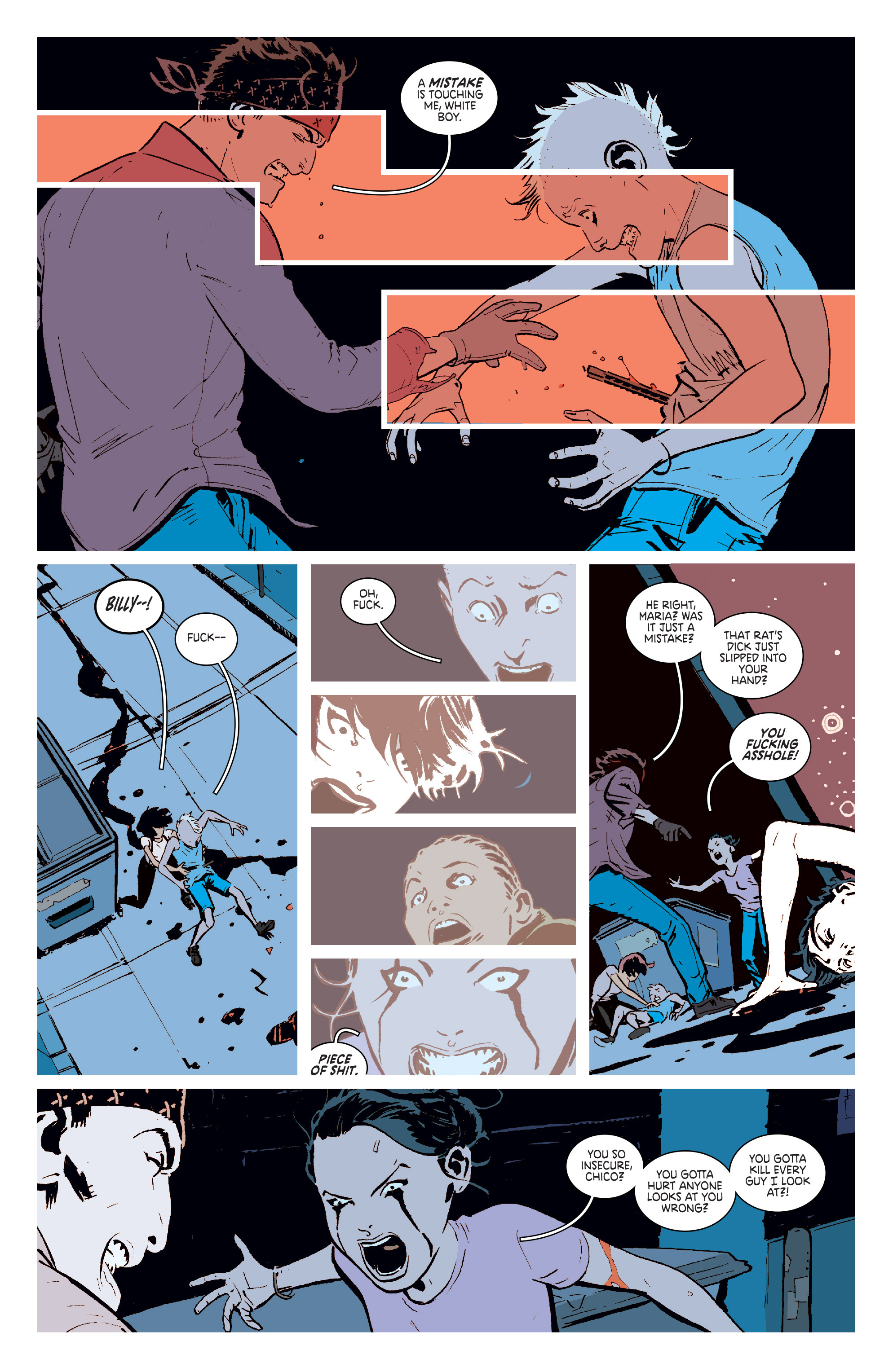 Read online Deadly Class comic -  Issue #6 - 11
