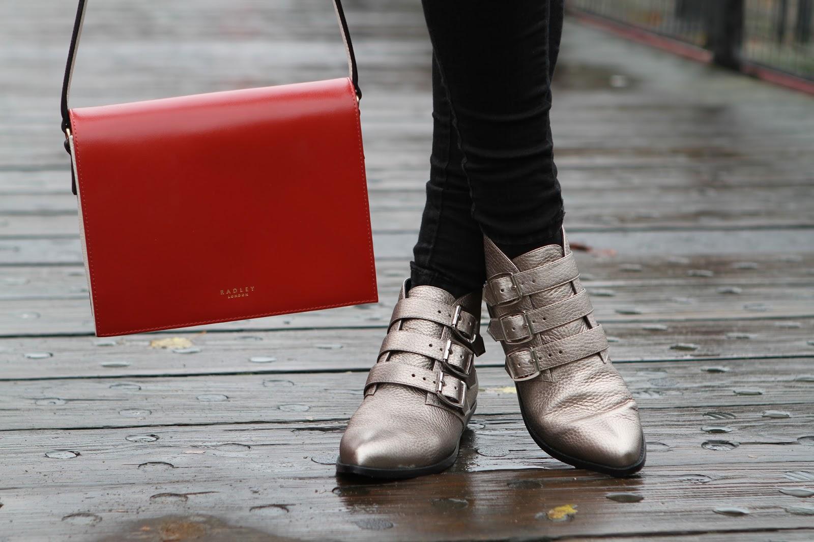 Radley Portman bag Clarks stanhope boots