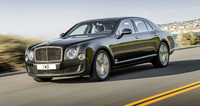 2016 Bentley Mulsanne Exterior