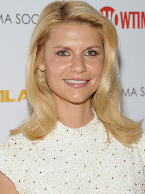 Claire Danes Dangling Diamond Earrings