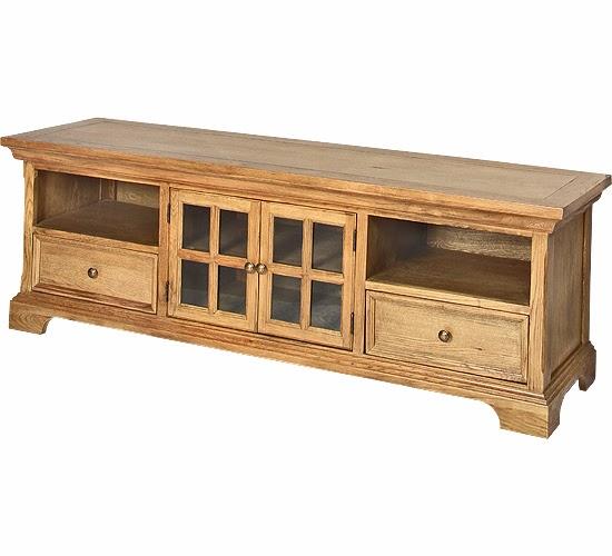Muebles de sal n muebles de salon en madera de roble - Muebles de madera de roble ...