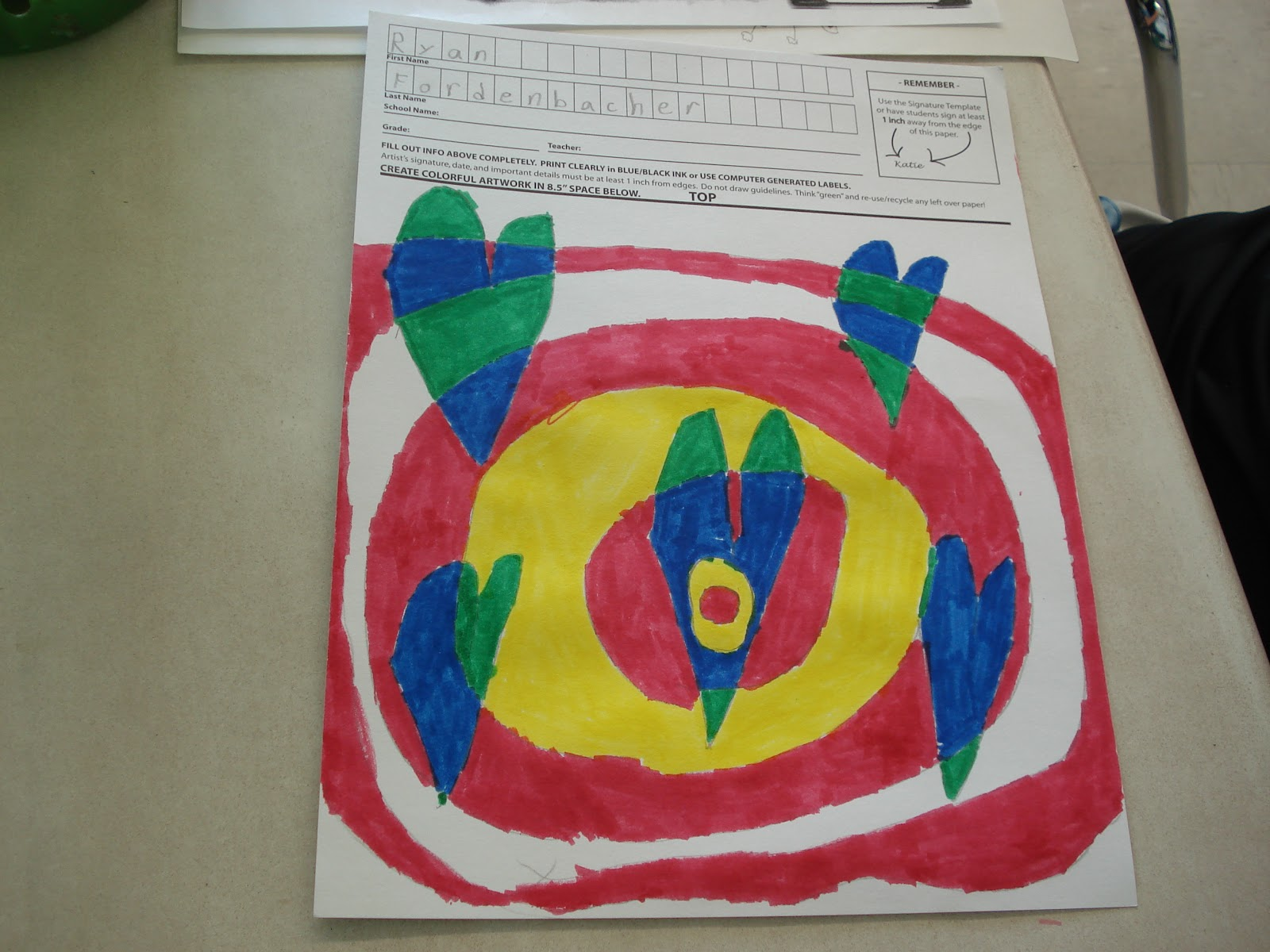 Op art uses color to create - If You Wondering Why So Many Heart Projects Well At My School We Do A Fund Raiser With A Company Called Square 1 Art This Year I Decided To Do A Heart