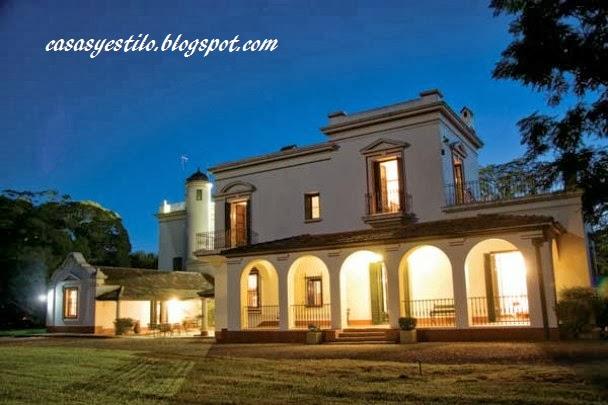 como son las casas de estilo español