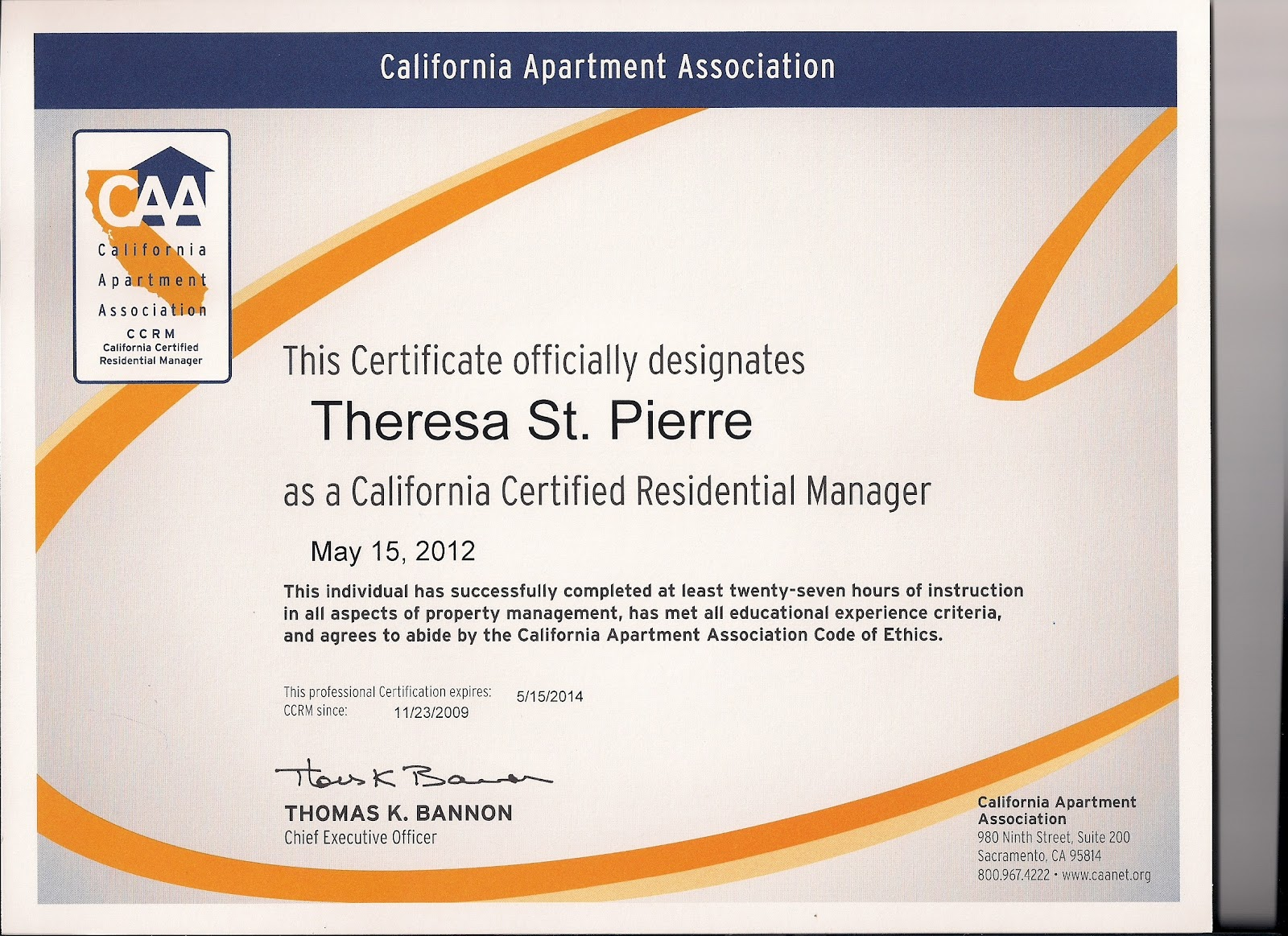 Certified Meeting Professional Certification Ratepersonally