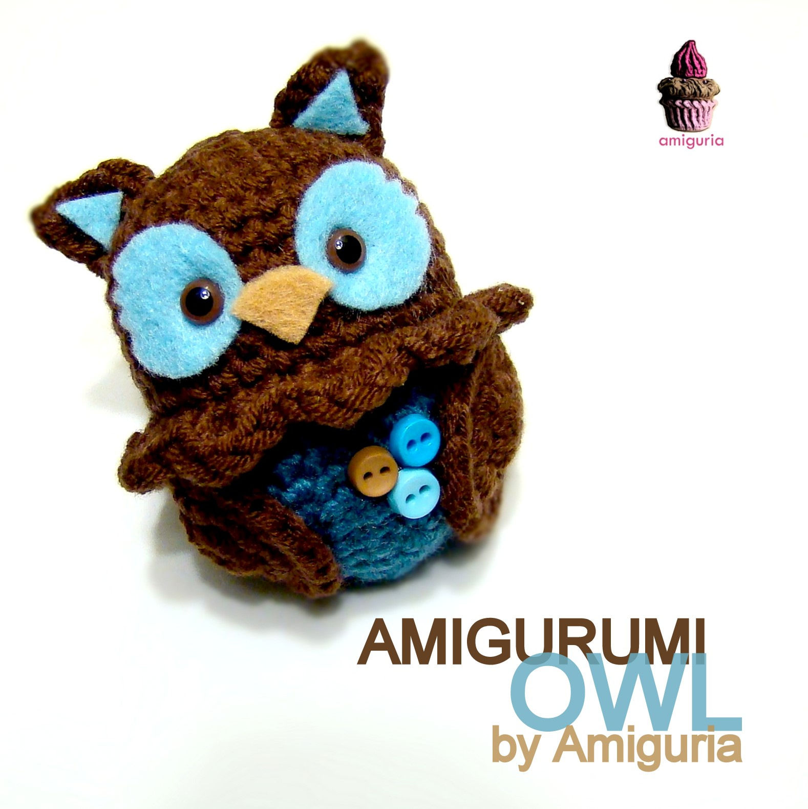 Amigurumi Patterns Owl : amiguria amigurumi: Amigurumi Owl by Amiguria
