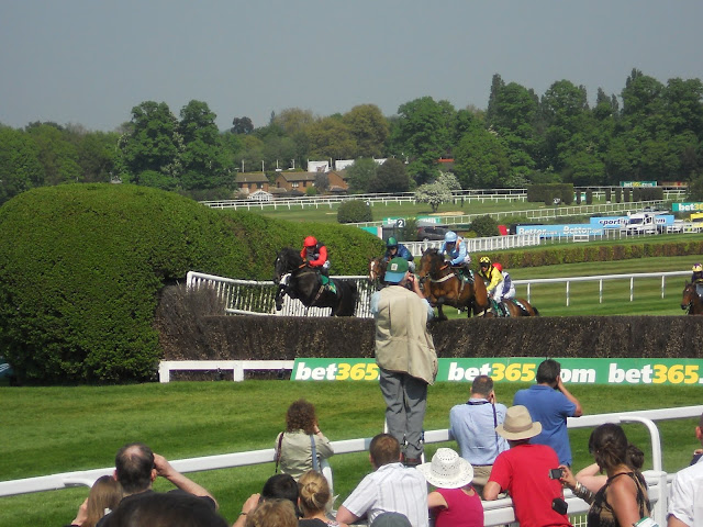 English Horse Racing Steeplechase