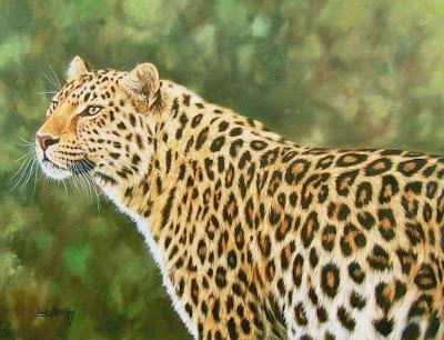cuadros-de-animales-leopardos