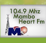 Logo of heartfmmamburao 104.9Mhz