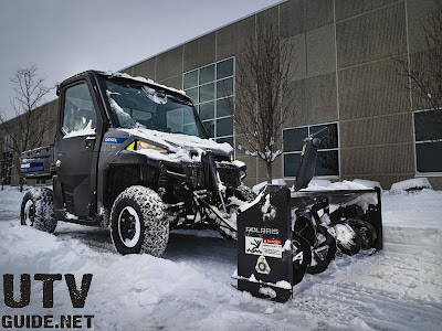 Polaris BRUTUS with PTO Snow Blower