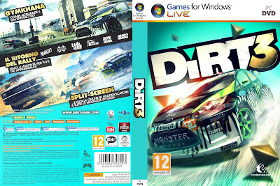 Dirt 3 PC DVD Capa