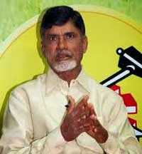 Telugu Desam Party president Chandrababu Naidu