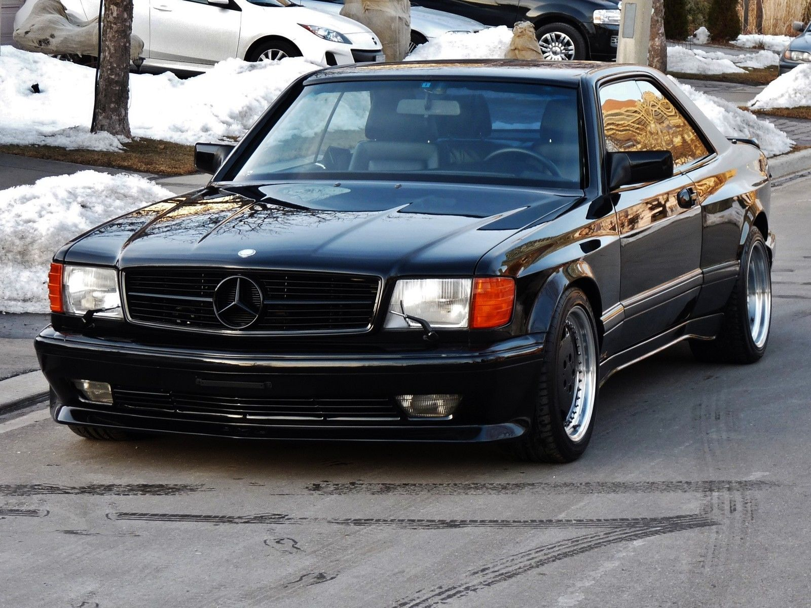 1990 Mercedes-Benz 560SEC AMG 6.0 Widebody Is Badass, But ...