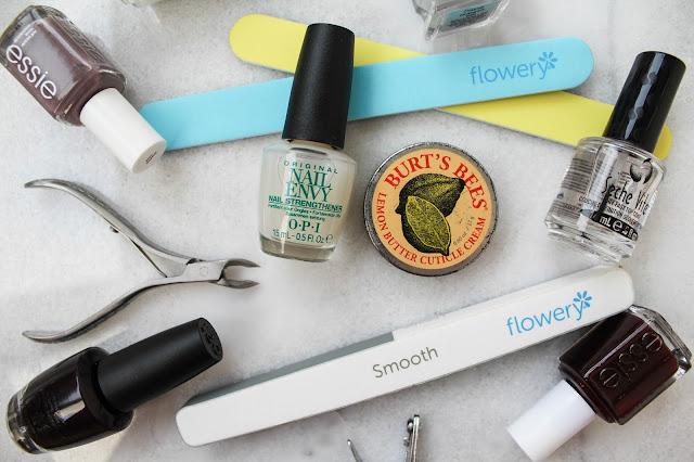 nail polish essie opi nail care burts bees marble
