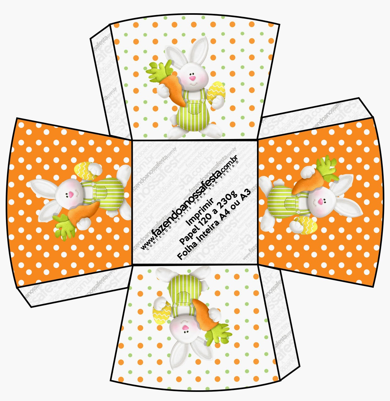 easter in orange free printable boxes is it for parties is it