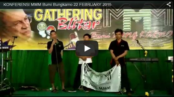 Video Konferensi MMM Mavrodi Indonesia di Bumi Bung Karno Blitar Tanggal 22 Februari 2015