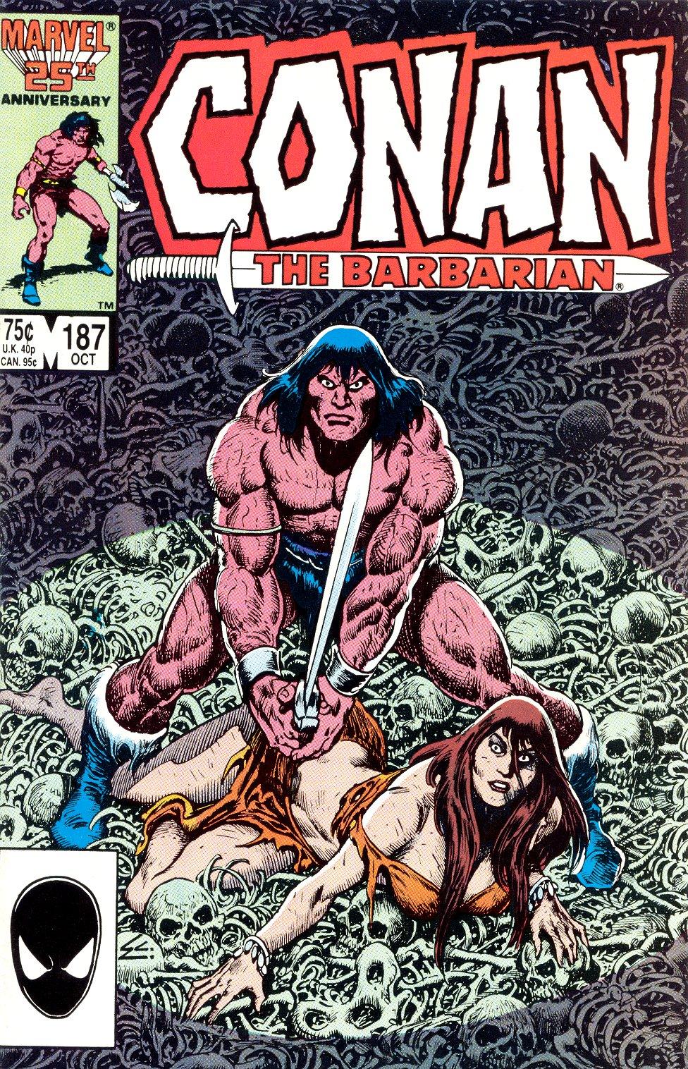 Conan the Barbarian (1970) Issue #187 #199 - English 1