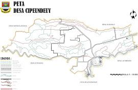 Peta Wilayah Desa Cipeundeuy